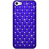 Amzer Diamond Lattice Snap On Shell Case Back Cover for iPhone 5C - Retail Packaging