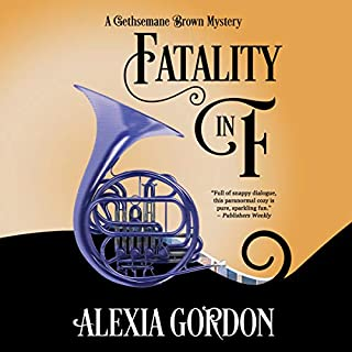Fatality in F                   By:                                                                                                                                 Alexia Gordon                               Narrated by:                                                                                                                                 Helen Duff                      Length: 7 hrs and 27 mins     13 ratings     Overall 4.4