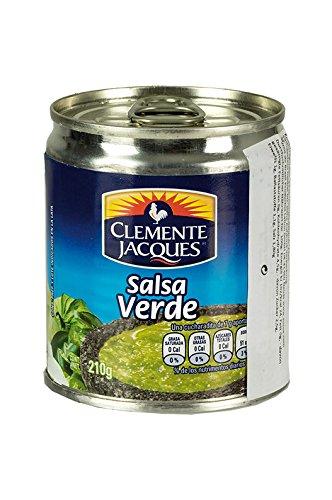 Salsa Verde CLEMENTE JACQUES -- Grüne Dip-Soße, Dose 210g