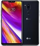 Foto LG G7 smartphone con Display FullVision 6.1'', batteria 3000mAh, Audio Boombox e Quad-DAC, doppia fotocamera 16MP, Octa-Core 2,8GHz, 64GB/4GB RAM, Android 8, Aurora Black [Italia]