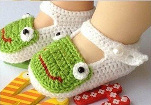Calcetines para bebé recién nacido de punto Crochet
