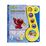 Sesame Street - Rubber Duckie Bath Time Tunes Sound Book - PI Kids (Play-A-Song)