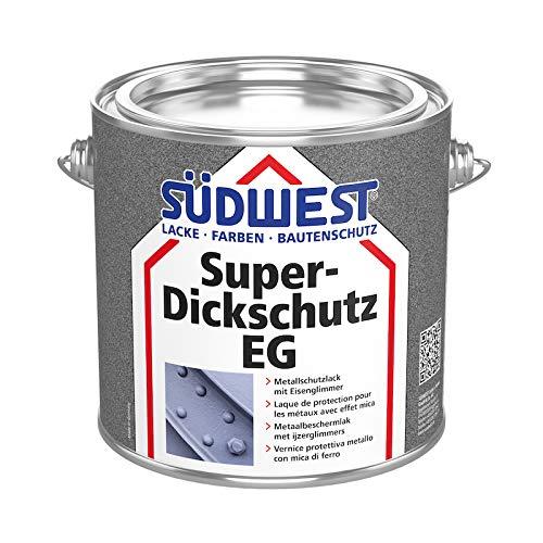 Südwest Super Dickschutz Eisenglimmer DB 703 Anthrazit - mit Rostschutz (750 ml)