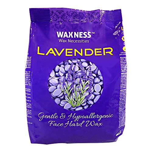 Waxness Premium Luxury Lavender Face Hard Wax Beads 0.8 lb / 400g
