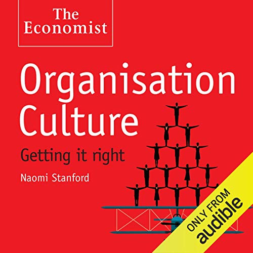 Organisation Culture audiobook cover art