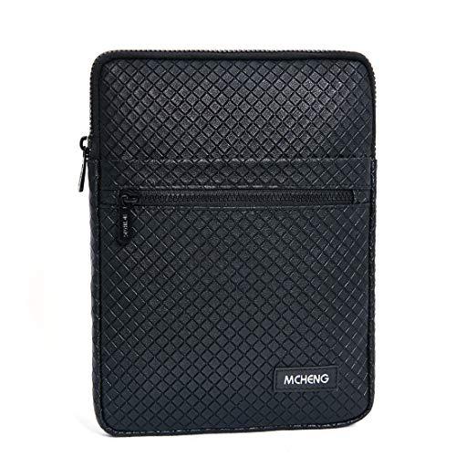 MCHENG Tablet Sleeve Schutzhülle Laptop Cover Hülle für iPad Mini 4,3,2 / Samsung Galaxy Tab 8 Zoll / ASUS ZenPad Schutztasche Schwarz