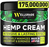 Fast-acting hemp cream - Wellgrade Hemp Cream helps ease most types of discomfort, providing a fast and long-lasting soothing effect. Our maximum potency herbal blend with high-grade hemp oil is a perfect solution to feel comfortable and relieved dur...