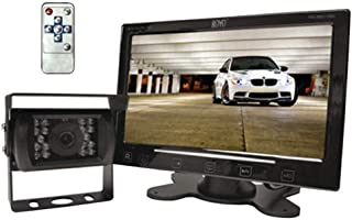 """BOYO VISION VTC307M - Vehicle Backup Camera System with 7"""" Monitor and Heavy-Duty Backup Camera for Car, Truck, SUV and Van, Black, 10X7X5"""
