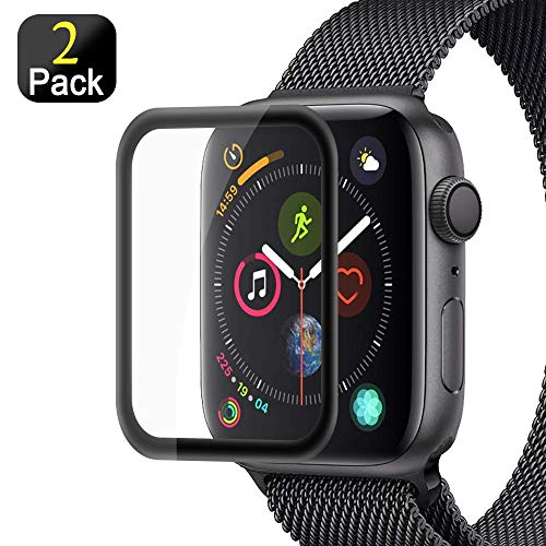 Semriver Panzerglas Schutzfolie kompatibel für iWatch 42mm Series 3/2/1 - (2 Stück) Displayschutzfolie 3D Full Cover Panzerglasfolie 9H HD Klar Sport, Edition, Nike+ für Apple Watch 42mm