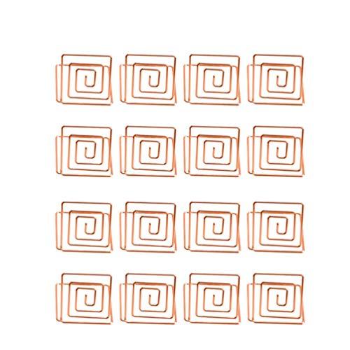 EXCEART 16Pcs Coloque Los Titulares de Tarjetas Titulares de Números de Mesa...