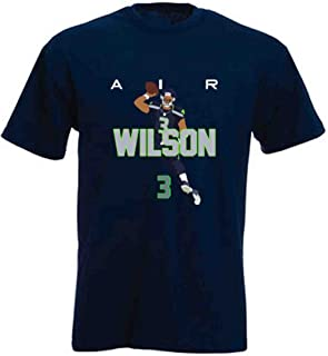 The Silo Navy Seattle Wilson AIR PIC T-Shirt