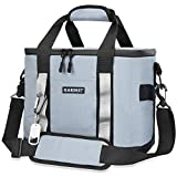 GARDRIT Insulated Cooler Bag - Collapsible Insulated Lunch Box, Leakproof Cooler Bag Suitable for Camping, Picnic& Beach (30can/20L)