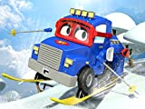 【Christmas】The ski truck / The radiator truck  / The car wash truck / The mobile paint truck