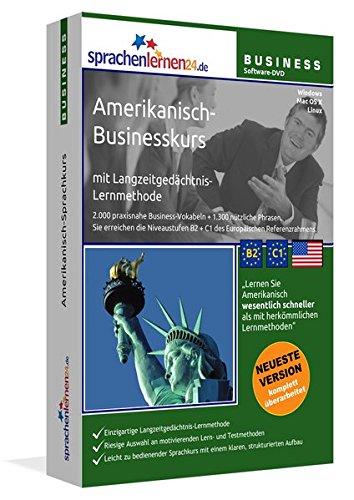 Amerikanisch-Businesskurs mit Langzeitgedächtnis-Lernmethode von Sprachenlernen24: Lernstufen B2+C1. Amerikanisch lernen für den Beruf. Software PC ... über 3300 Audio-Vokabeln und Redewendungen