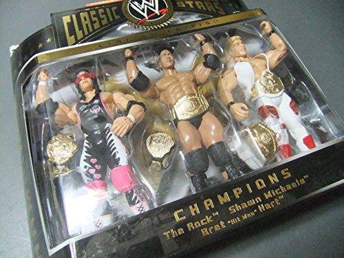 Jakks Pacific WWE Classic Superstars Best of Bret THE HITMAN Hart