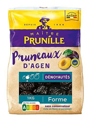 Maitre Prunille Pruneaux dAgen Dénoyautés Forme Calibre 33/44 1000 g