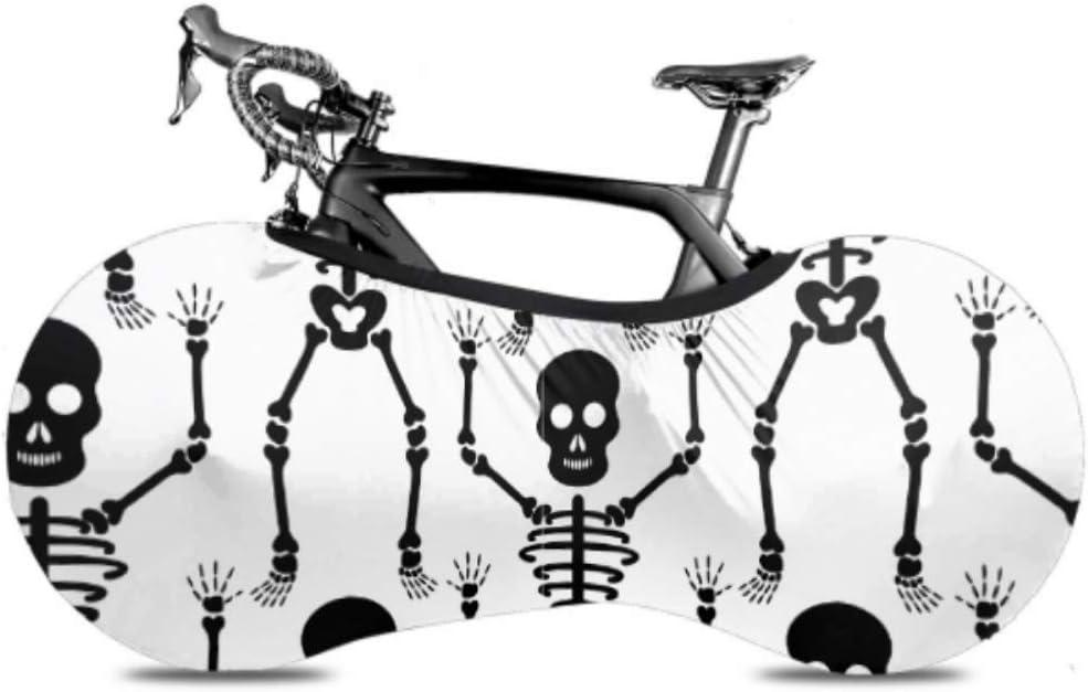 San Antonio Mall WIEDLKL Set of Skull Cartoon Wheel Bicycle Bicy Ranking TOP6 Dust Cover