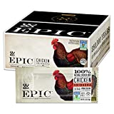 EPIC Chicken Sriracha Protein Bars, Whole 30, Keto Friendly, 12Ct Box 1.5oz bars