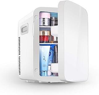 Mini Fridge, 10L Portable Skincare Fridge with Heat and Cool Capacity for Bedroom Dorm Car - Great for Skincare & Cosmetics