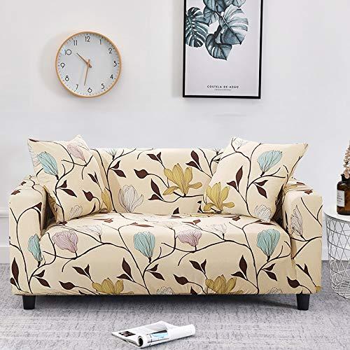 WXQY Funda elástica para sofá, Funda elástica para sofá, sillón en Forma de L, Funda combinada para sofá, Toalla, Funda para sofá, Funda Protectora para Muebles A24, 4 plazas