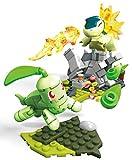 Mega Construx Pokemon Combat Germignon contre Héricendre, jeu de construction, 129 pièces, pour enfant dès 6 ans, FVK69