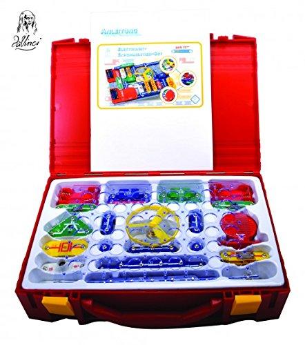 DaVinci 362-75 Elektronik Experimentier-Set mit Koffer 265 teilig