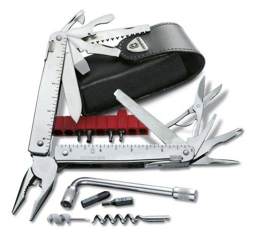 Victorinox Swisstool CS Plus in Lederetui Eas Blister Tool, silber, One Size