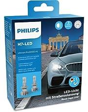 Philips Ultinon Pro6000 H7-LED reflektor dopuszczony do ruchu drogowego, +230% jaśniejsze światło