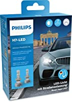 Philips Ultinon Pro6000 H7 LED Headlight Bulb Road Legal +230% Brighter Light