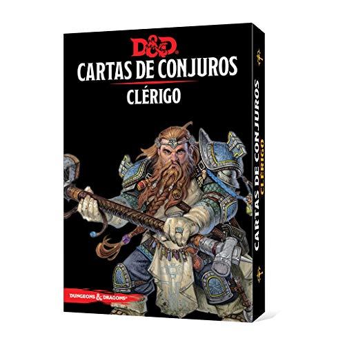 Dungeons & Dragons Clerigo-Cartas de Conjuros-Castellano, Color (Edge Entertainment EEWCDD82)