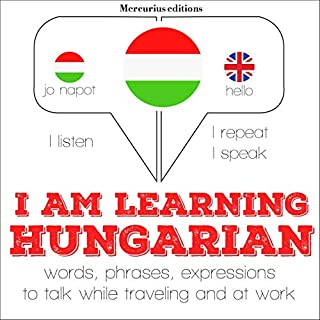 I am learning Hungarian cover art