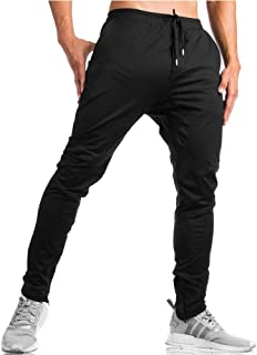 TBMPOY Men's Tapered Running Jogger Athletic Pants Gym Training Pants