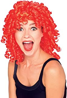 Red Curly Costume Wig - Adult Std.