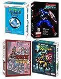 Marvel Comics Avengers, X-Men, Fantastic Four & Captain America Compatible with DVD-ROM - Bundle