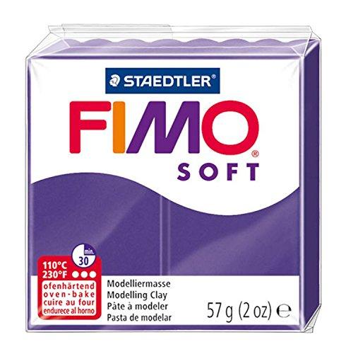 Staedtler 8020-63. Pasta para modelar de color ciruela Fimo Soft