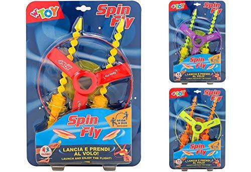 Globo S.P.A- Disco Volante Spin Fly, Multicolore, 850025
