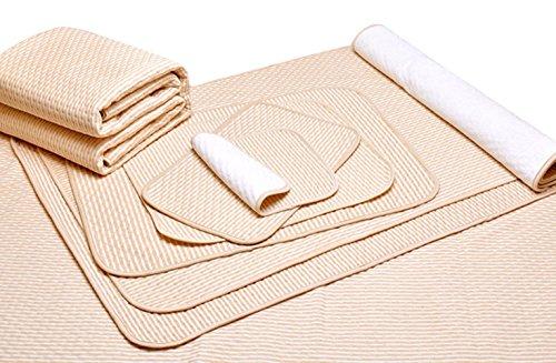 Liveinu Protector de Colchón Impermeable Absorbentes Almohadilla de Incontinencia para Niños Adultos y Mascotas 70x120cm Como Una Imagen