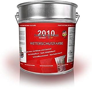 Wetterschutzfarbe 4,0 L Schwedenrot NEUWARE