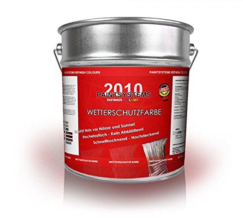 Wetterschutzfarbe 1 Liter Schwedenrot NEUWARE