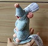 siqiwl Peluche Peluche De Hombro Magnético Auténtico Ratatouille Chef Remy Nuevo
