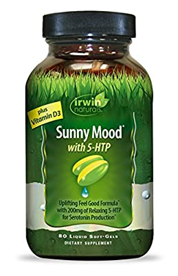Irwin Naturals Sunny Mood with 5 HTP, 80 Count