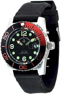 Zeno Watch Basel - Reloj para Hombre Analógico Automático con Brazalete de Silicona 6349-3-a1-5
