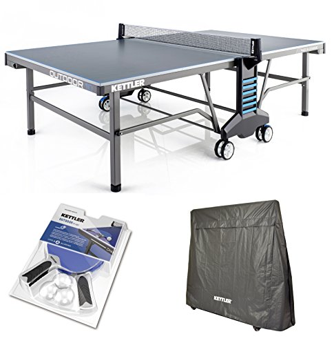 Kettler Outdoor 10 Table Tennis Table w/Accessories