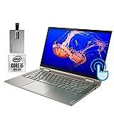 2020 Lenovo Yoga C740 2-in-1 14' FHD Touchscreen Laptop Computer, Intel Core i5-10210U, 8GB RAM, 256GB SSD, Backlit Keyboard, Intel UHD Graphics, HD Webcam, Windows 10, Mica, 32GB Snow Bell USB Card