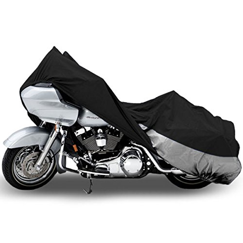 Motorcycle Bike Cover Travel Dust Storage Cover For Yamaha V-Star 950 1100 1300 Classic