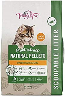 Trouble and Trix AQ372 Natural Cat Litter 10 Litre