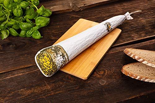 WURSTBARON® - Hanf Salami in Joint Form - ganze Wurst Stange, 650 g
