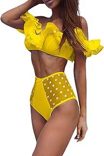 Luckycat Traje de baño Sexy de Mujeres Conjunto de Bikinis Atractivo Mujer Sujetador Push-up de Mujer Bikinis brasileño Mujer Biquinis bañador natación Mujer