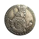 Wefeelm Polonia 1644 King Conmemorative Coin Collection Badge Souvenirs Decoración para el hogar Artesanías Adornos de escritorio Regalos