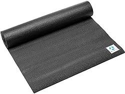 #DoYourYoga Yogamatte »Annapurna Comfort« 183 x 61 x 0,5 cm - rutschfest, Robust - Pilatesmatte Sportmatte Gymnastikmatte - ideal für Home, Gym Work Out, Pilates & Yoga - Schwarz